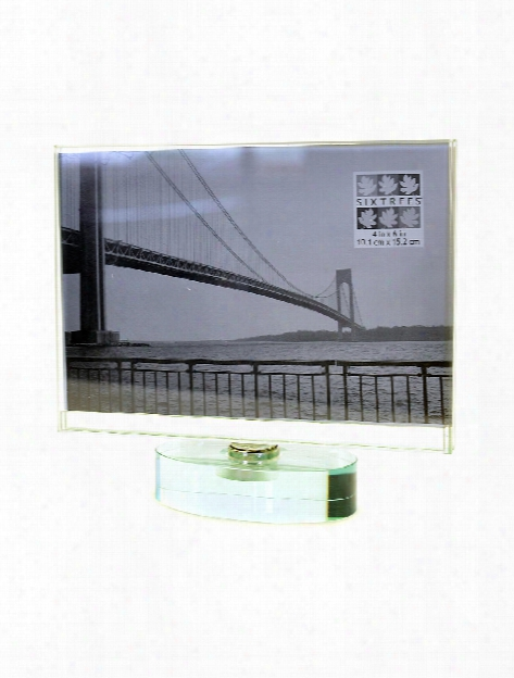 Spinner Glass Frame 5 In. X 7 In. Horizontal