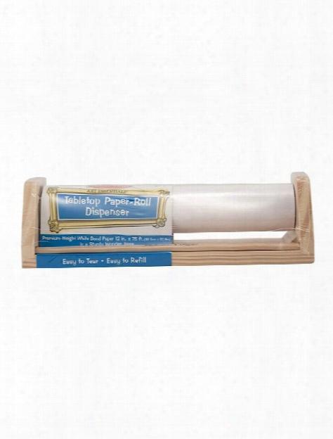 Tabletop Paper Roll Dispenser Each 13 1 2 In. X 4 In. X 4 1 2 In.