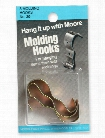 Household Hardware Molding Hook Antique Brass 3 pack pack of 3 no. 20BR