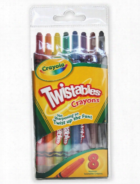 Twistables Crayons Set Of 8