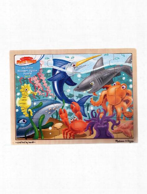 Wooden Jigsaw Puzzles Rainforest 48 Pieces