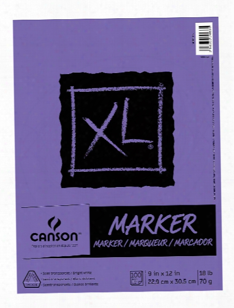 Xl Series Marker Pad 9 In. X 12 In. 100 Sheets