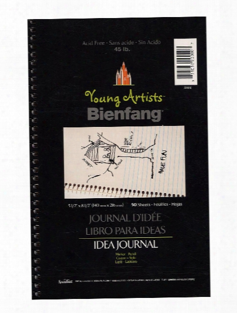Young Artists Idea Journal 5 1 2 In. X 8 1 2 In. Pad Of 50