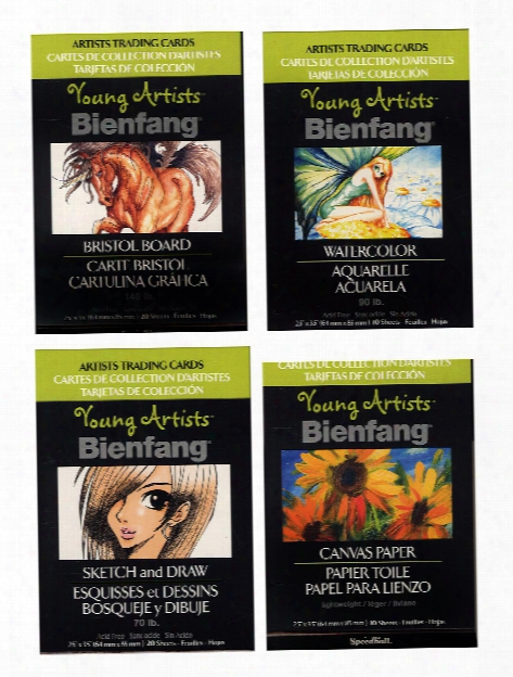 Young Artists Trading Cards Canvasette Pack Of 10