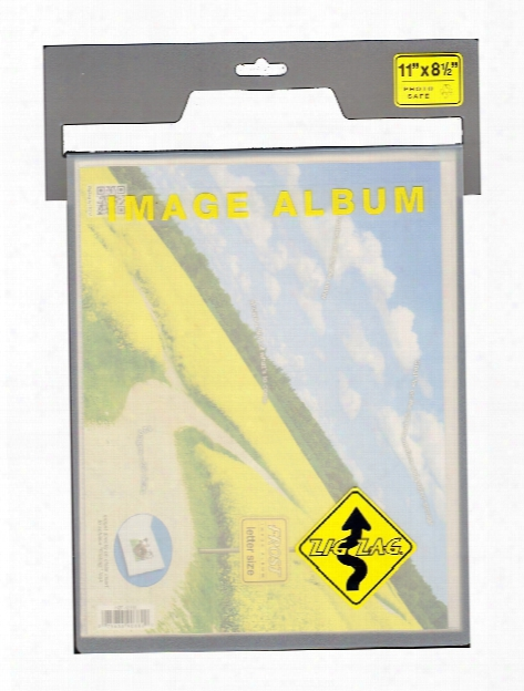 Zigzag Frost Photo Albums 6 In. X 4 In. Landscape
