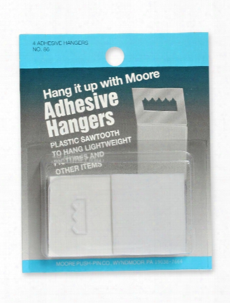 Adhesive Sawtooth Hanger Pack Of 4 Pack Of 4