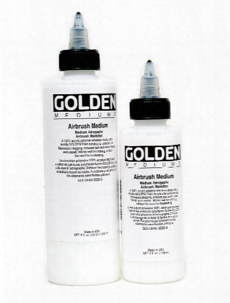 Airbrush Medium 8 Oz. Bottle