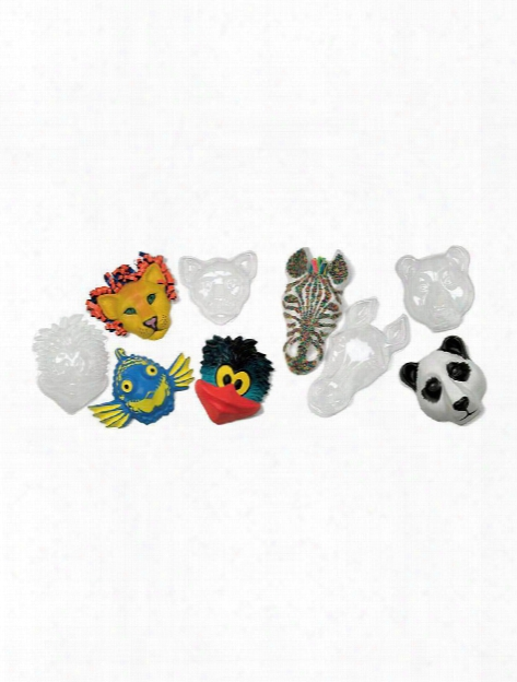 Animal Face Forms Pack Of 5