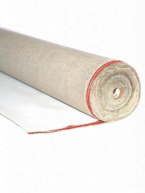 Antwerp Acrylic Primed Linen Roll Canvas Double Primed 53 In. X 6 Yd. Roll
