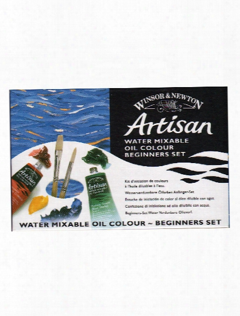 Artisan Water Mixable Oil Colour Beginners Set Set Of 6