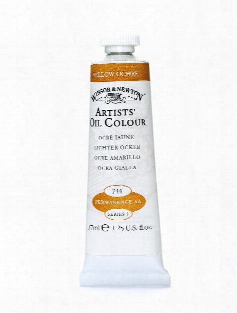 Artists' Oil Colours Transparent Yellow 653 37 Ml