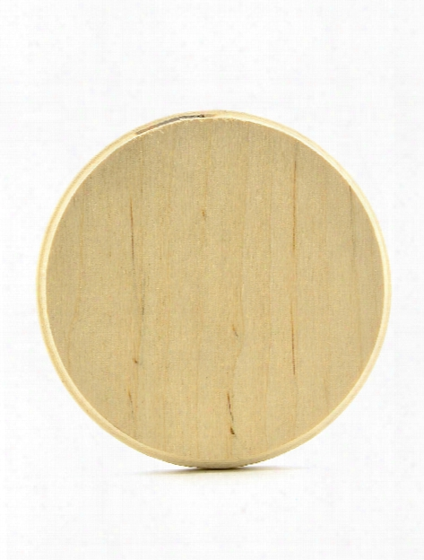 Baltic Birch Plywood Plaques Circle 0.38 In. X 4.50 In. X 4.50 In.