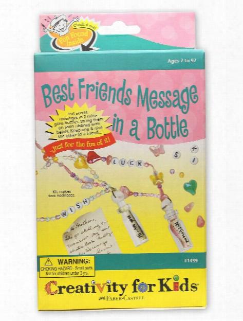 Best Friends Messages In A Bottle Mini Kit Each