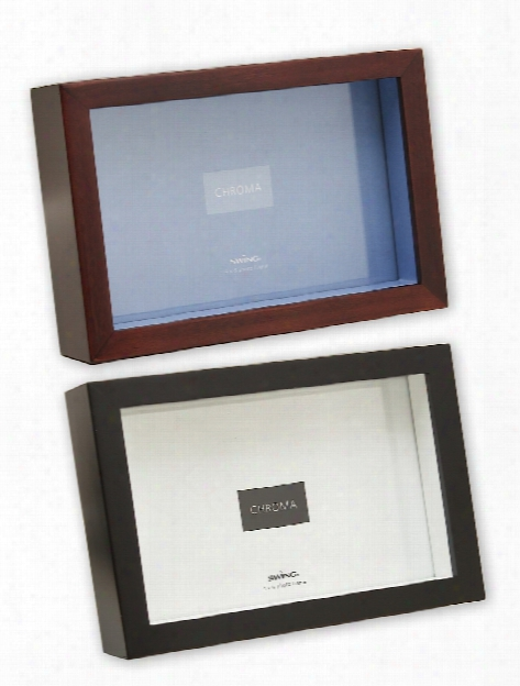 Chroma Frames 8 In. X 10 In. Walnut Natural Inlay