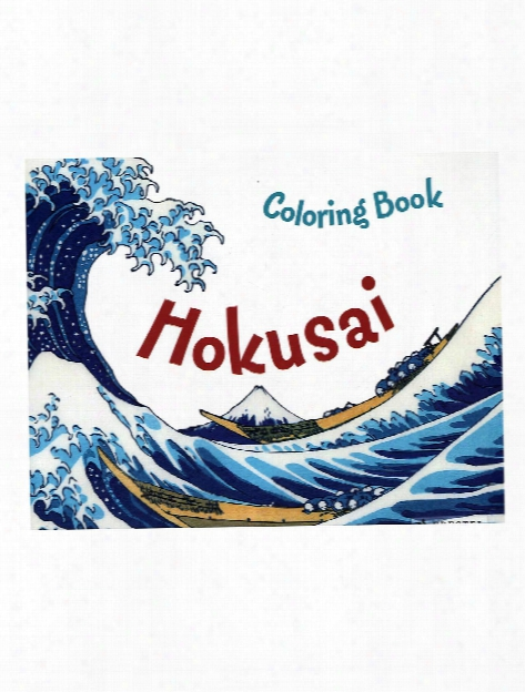 Coloring Books Hokusai
