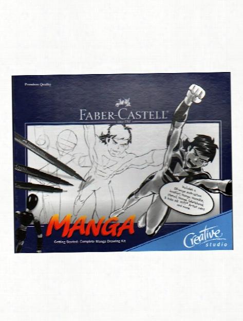 Complete Manga Drawing Kit Each