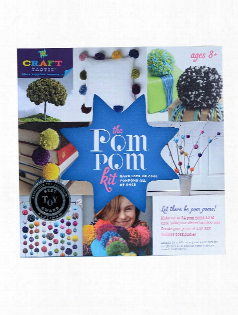 Craft-tastic Pom Pom Kit Each Each