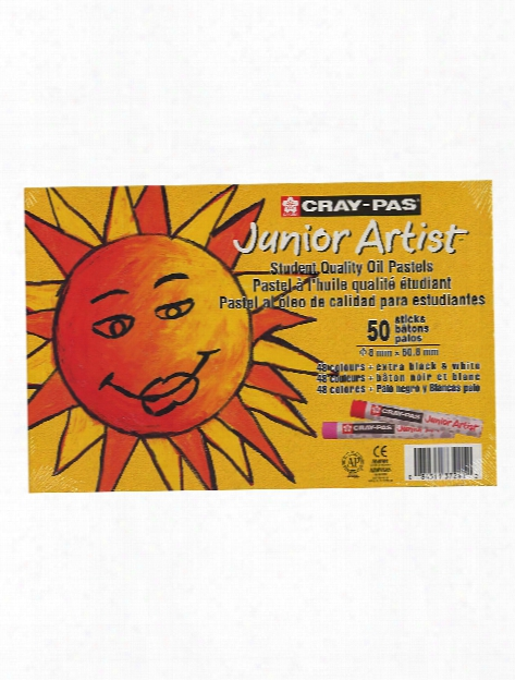 Cray-pas Junior Artist Oil Pastel Sets Set Of 12