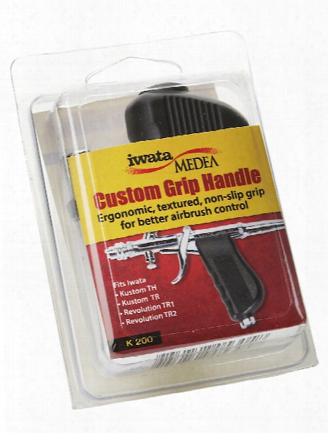Custom Grip Handle 3 In. Black