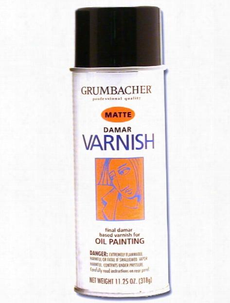 Damar Varnish Spray Matte 11 1 4 Oz.