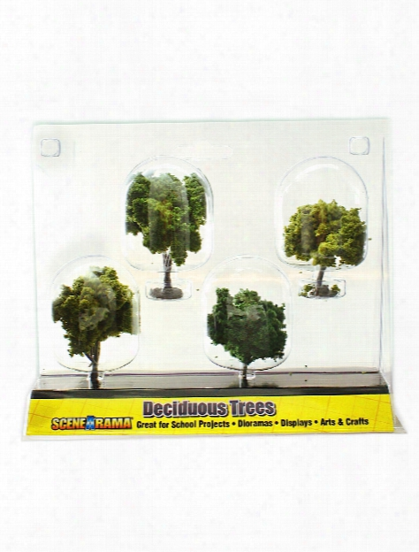 Deciduous Trees 2 In. X 3 In. Pack Of 4