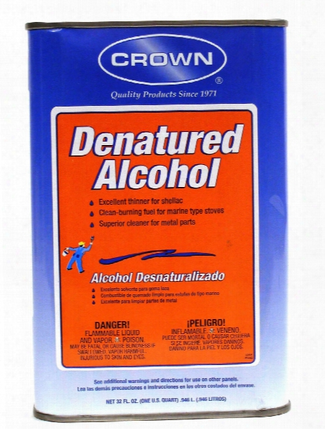 Denatured Alcohol 32 Oz.