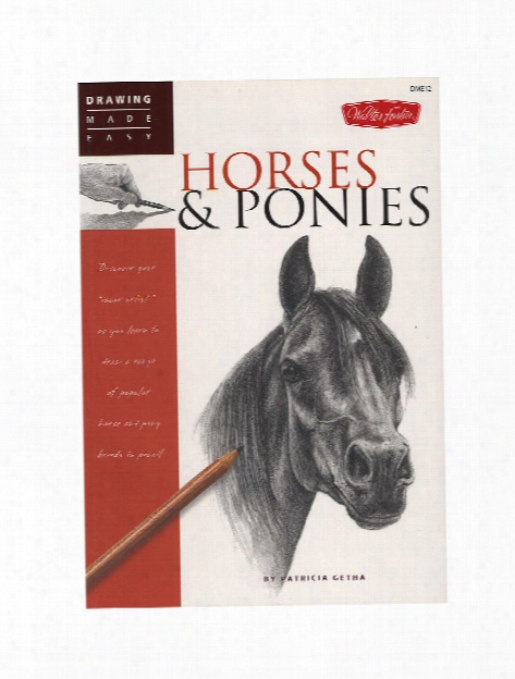 Drawing Made Easy Horses & Ponies Each