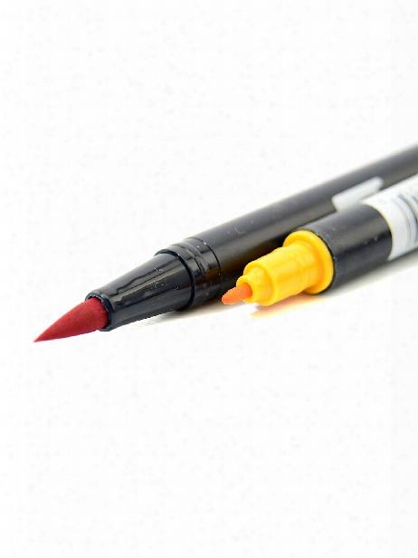 Dual End Brush Pen Sky Blue 451