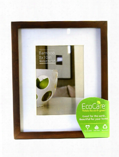 Ecocare Frames Natural Bamboo 5 In. X 7 In. No Mat