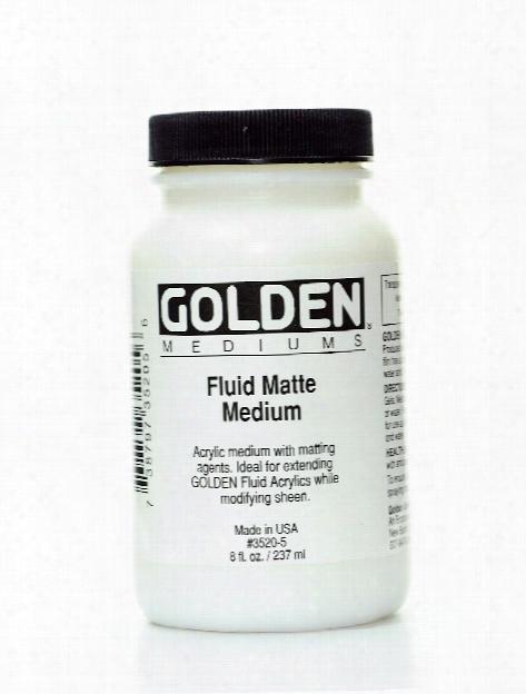 Fluid Matte Medium 32 Oz.