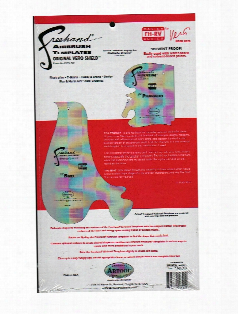 Freehand Airbrush Template Master Series By Radu Vero Set Of 2
