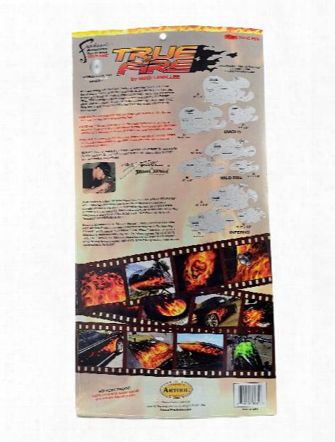 Freehand True Fire Template Set Set Of 9 With Dvd