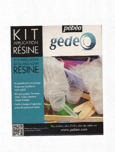 Gedeo Resin Application Kit Application Kit
