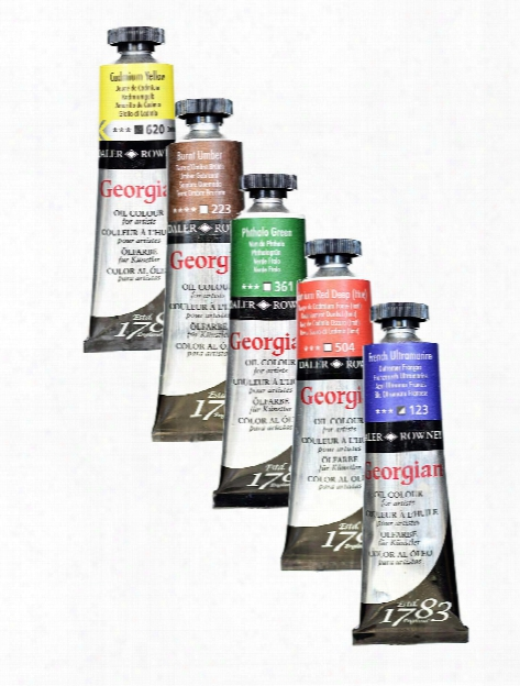 Georgian Oil Colours Ivory Black 225 Ml