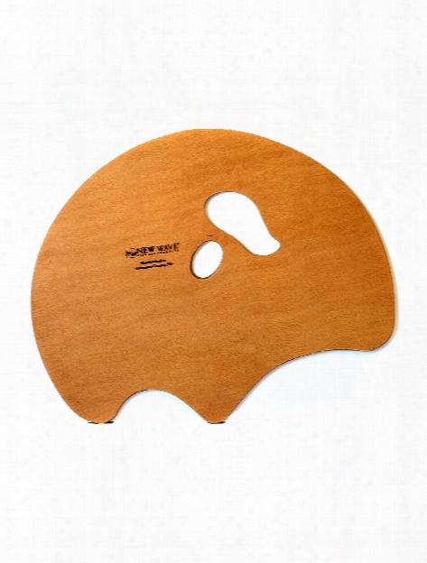 Grand View Confidant Wood Palette Left Handed