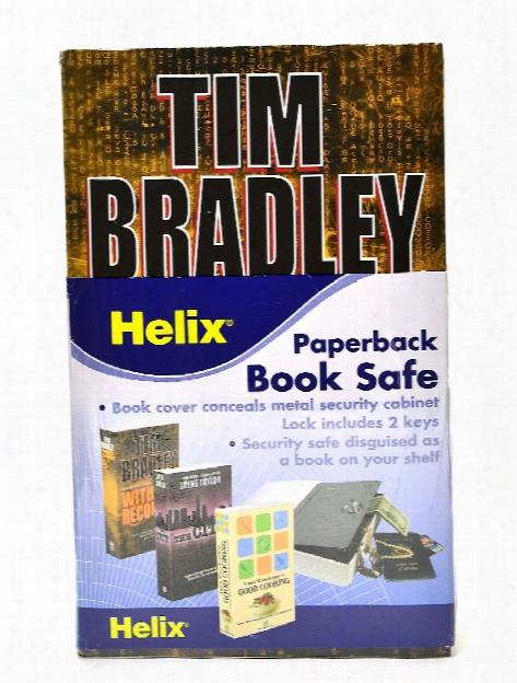 Homesafe Paperback Book Safe 4 1 4 In. X 7 1 8 In.