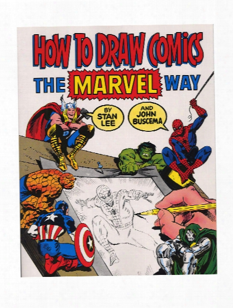 How To Draw Comics The Marvel Way Each