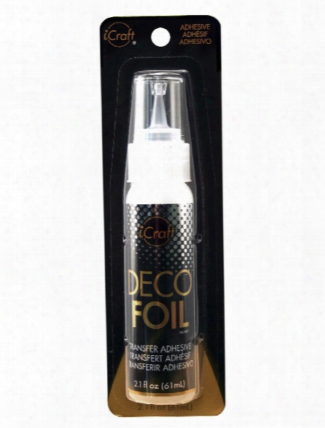 Icraft Deco Foil Transfer Adhesive 2.1 Fl. Oz. Bottle