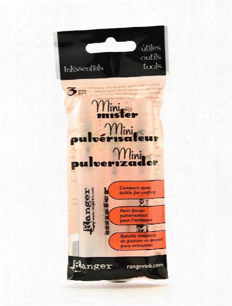 Inkssentials Mini Mister Spray Bottles Pack Of 3