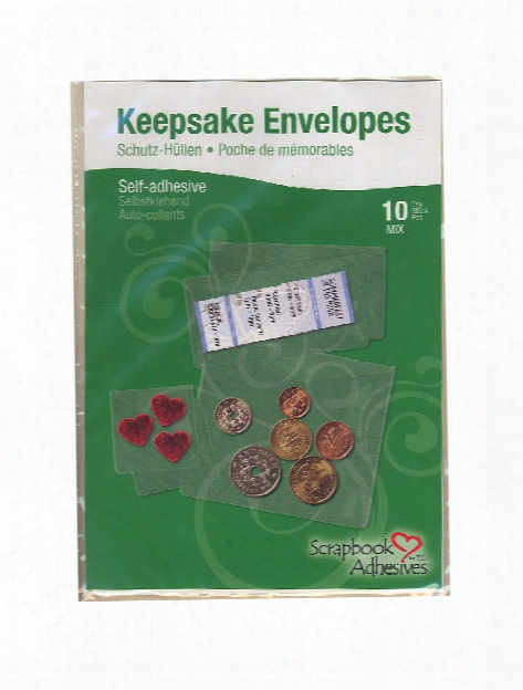 Keepsake Envelopes Pack Of 10