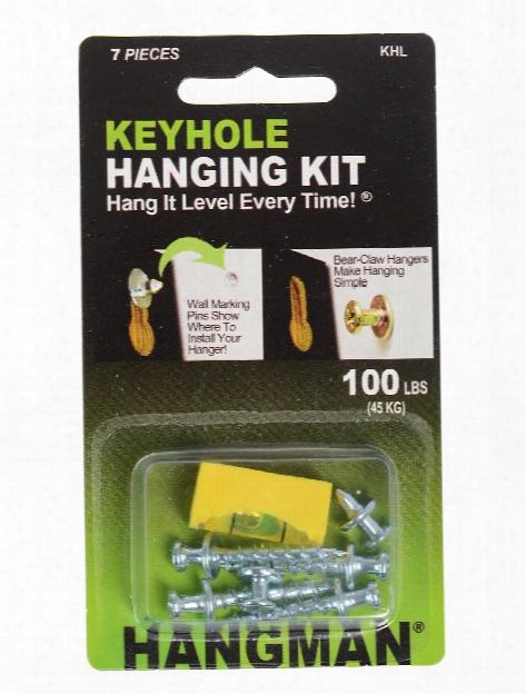 Keyhole Hangers Kit
