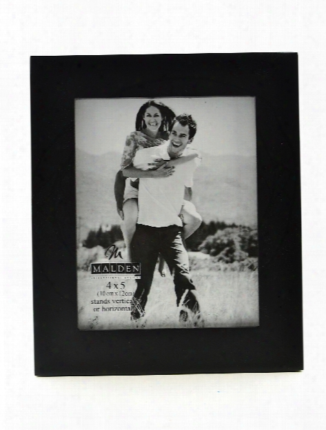 Linear Black Wood Photo Frames 2 In. X 3 In.