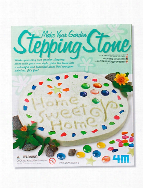 Make Your Own Garden Stepping Stone Each