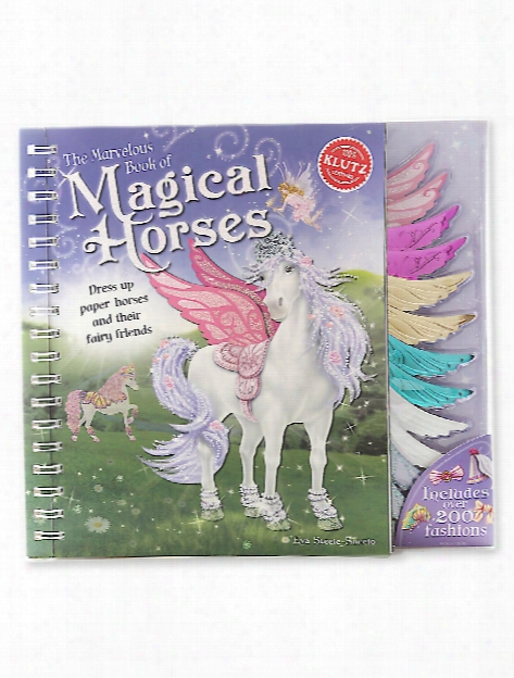 Marvelous Book Of Magical Horses Each