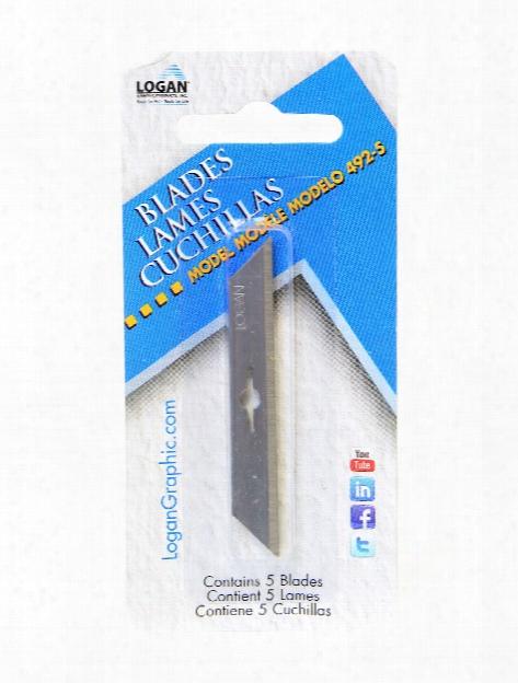 Mat Cutter Blades Pack Of 5 No. 492