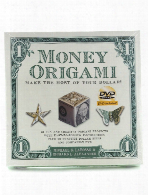 Money Origami Kit W Dvd Each