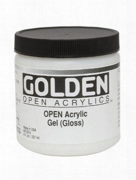 Open Acrylic Mediums Medium Matte 4 Oz.