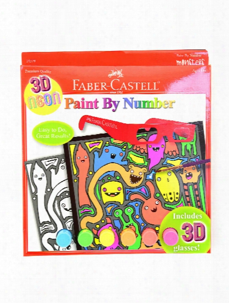 Paint By Number With Acrylic Paint Kits Cupcake Pop Art