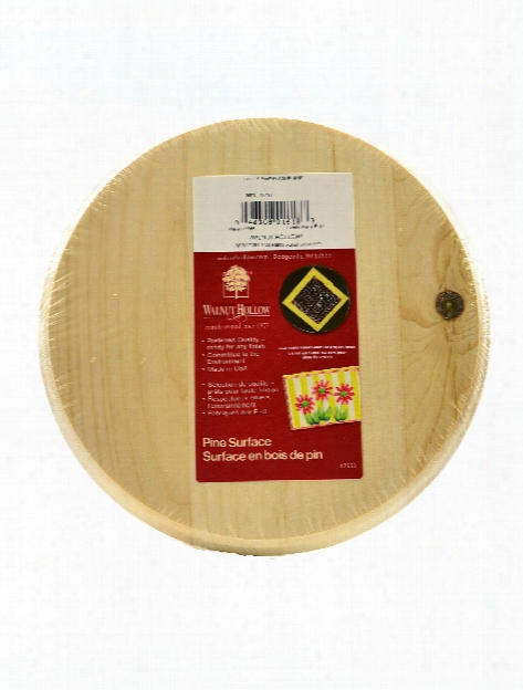 Pine Plaques Circle 0.63 In. X 8 In.