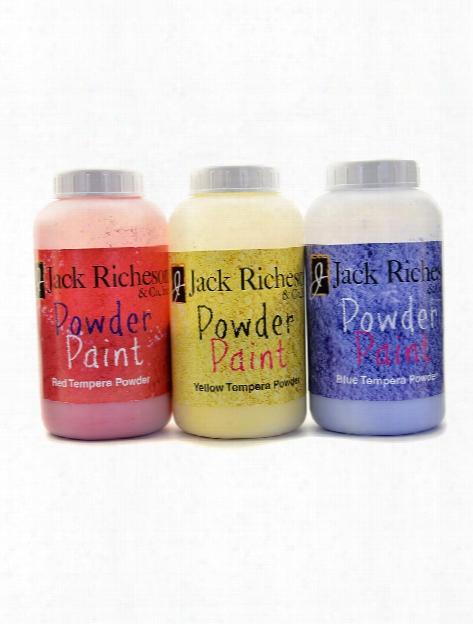 Powder Tempera Paint Red 16 Oz. Jar